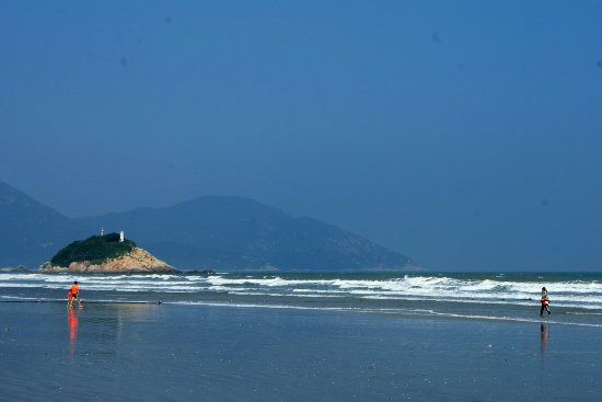 Taishan, China: 江门上川岛