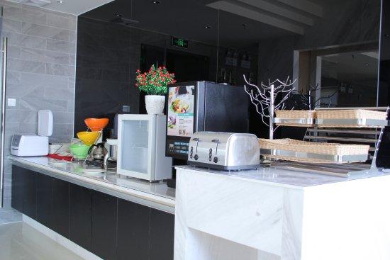 Linzhou, Китай: 取餐台