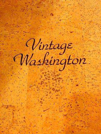 Vintage Washington Wine Bar