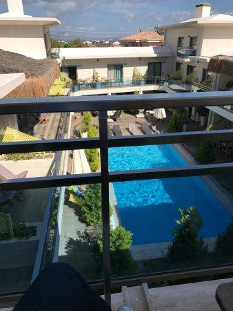Best Western Plus Cesme Hotel: 客房阳台