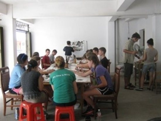 Yangshuo Culture House: 中国绘画课程