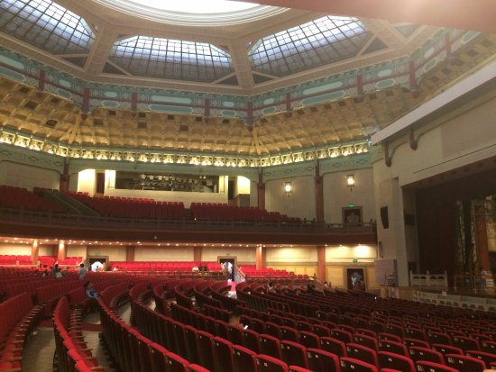 Dr. Sun Yat-sen's Memorial Hall : 堂内座椅