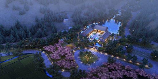 Qufu, Cina: 酒店入口接待处全景