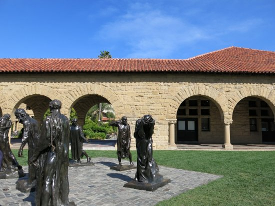 Palo Alto, CA: 各位科学大神的雕塑