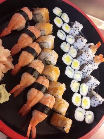 Ardon, Suisse : sushi!