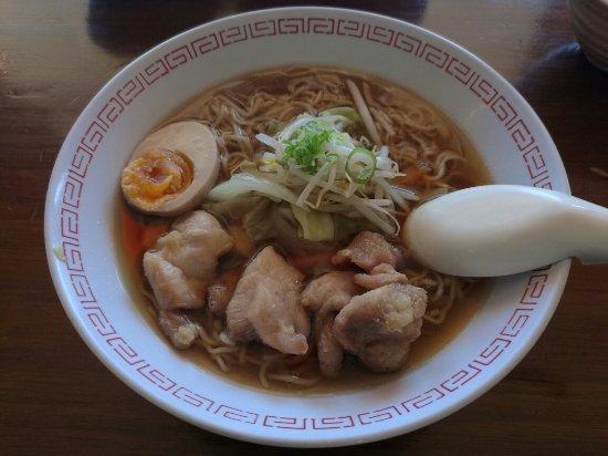Sasanoki Japanese Kitchen : 鸡肉拉面、牛肉