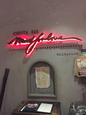 Photo of Asian Restaurant Chinta Ria Mood for Love at 188 Pitt Street, Sydney, Ne 2000, Australia