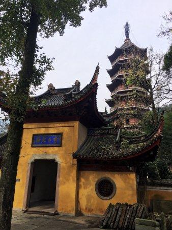 Ningbo, China: 寺庙很幽静!个人觉得如果需要静静的走走看看拜拜佛值得一去