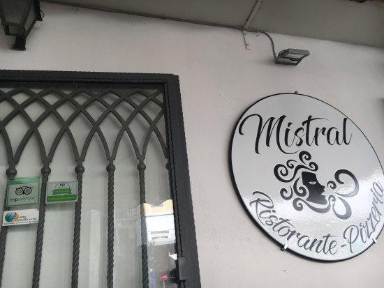 Atrani, Italia: 店名特写哦