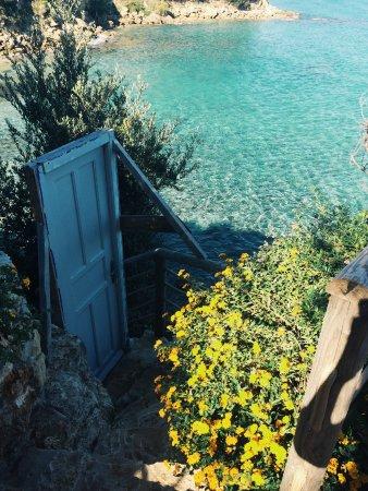 Ammoudi, Grecia: 小花园一角,不要太美