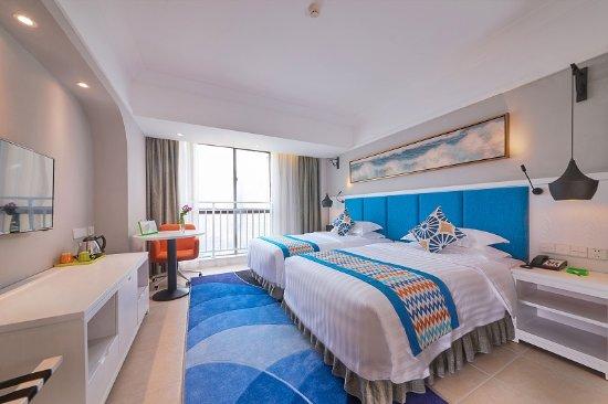 Beihai, China: 标准双床房