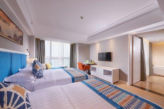 Beihai, China: 豪华双床房
