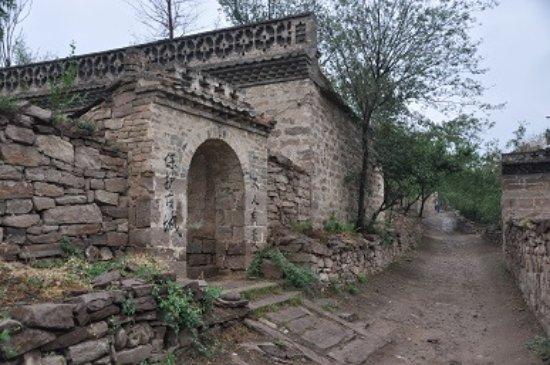Wubao County, China: 古城一景