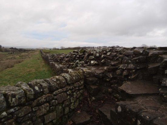 Northumberland, UK: 长城一角