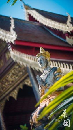 Wat Chiang Man: 寺院一隅
