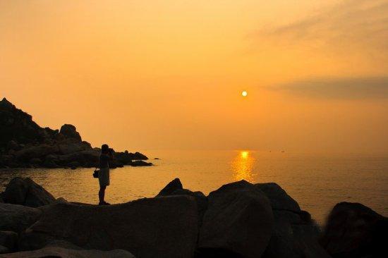Qing'ao Bay: 青澳湾看日出