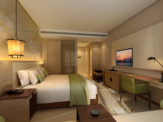 Dazhou, Cina: 豪华大床房