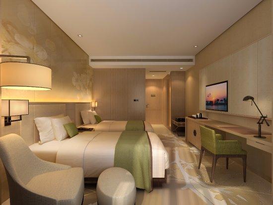 Dazhou, China: 豪华双床房