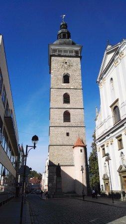 Ceske Budejovice, Repubblica Ceca: 塔楼外景