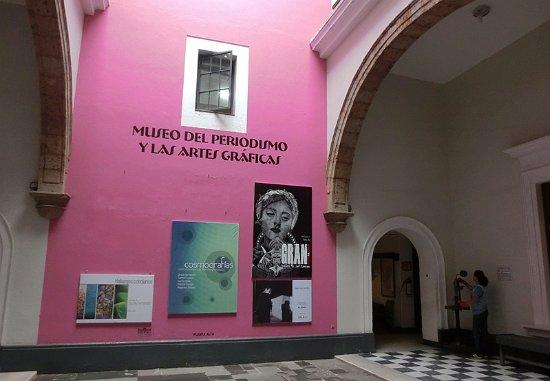 Museo del Periodismo y las Artes Graficas: 博物馆免费开放