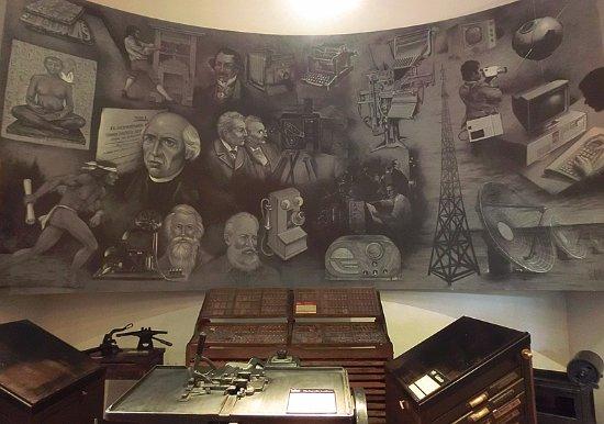 Museo del Periodismo y las Artes Graficas: 墨西哥媒体发展史