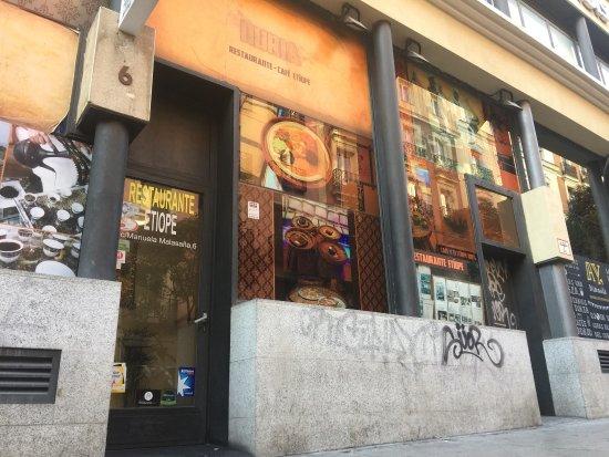 imagen Nuria Restaurante Etiope en Madrid