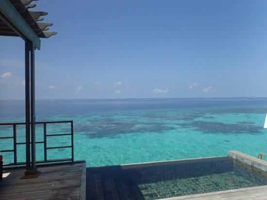 Robinson Club Maldives: 新水屋泳池