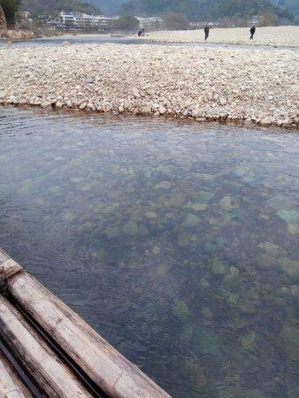Yongjia County, China: 楠溪江狮子岩