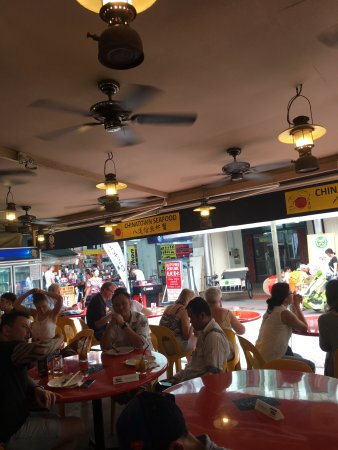 Typical evening at Chinatown Seafood. - Изображение Chinatown Seafood Restaurant, Сингапур - Tripadvisor