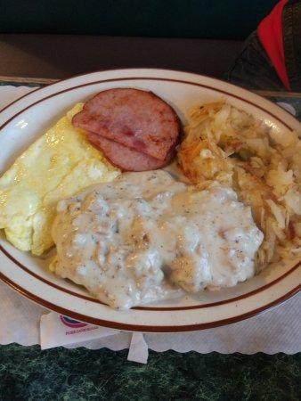Amanda Park, WA: 早餐很丰富!