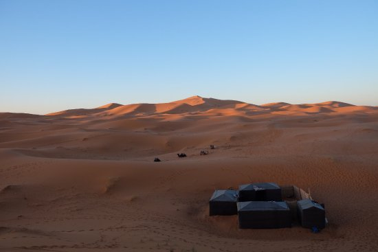 Fez-Boulmane, Marokko: Best experience in Sahara. I think everyone should have a Sahara dream, in the sand sea, enjoyed