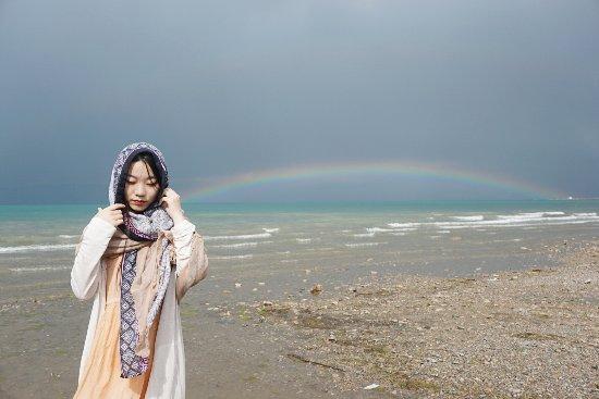 Xining, China: 青海湖