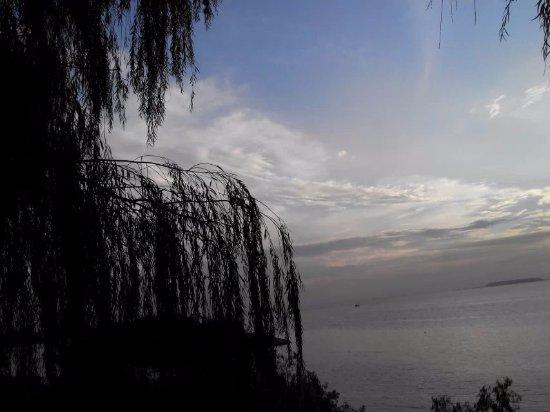 Yueyang, Kina: 天水一色的洞庭湖