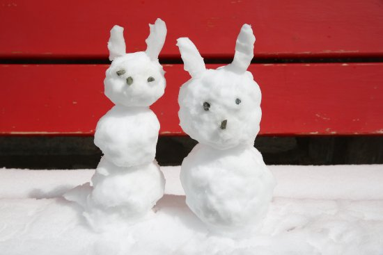 3100 Kulmhotel Gornergrat: 我在山顶堆了两个小雪人,送给远方的宝贝