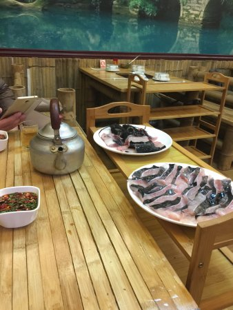 Libo County, China: 三力酒店餐厅