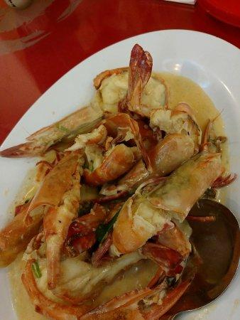 Welcome Seafood Restaurant: 炒龙虾