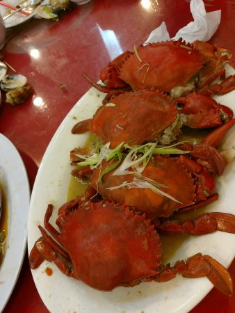 Welcome Seafood Restaurant: 蒸螃蟹