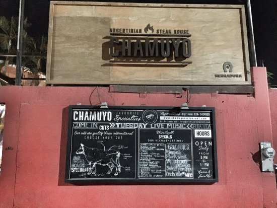 Chamuyo Restaurant : photo0.jpg