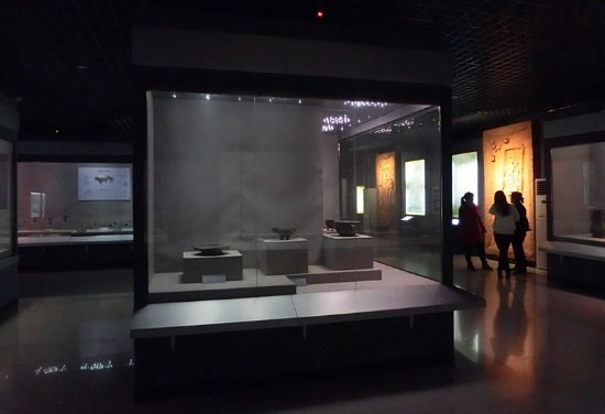 Sanmenxia, China: 文物展厅