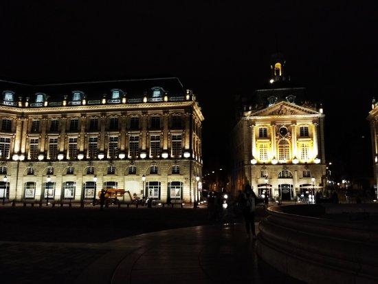 Photo of Monument / Landmark Place de la Bourse (Place Royale) at Bordeaux, France