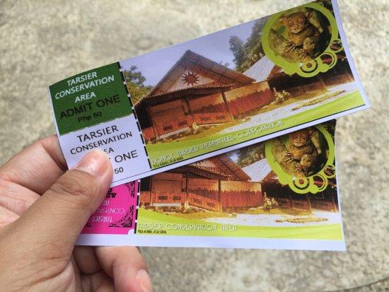 Loboc, Filipina: 门票