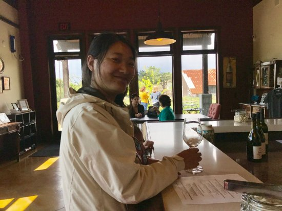 Stolo Family Winery & Vineyards : Nice memories due to the kindness of Mr. Stolo