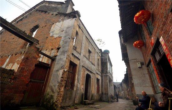 Zhuzhou County, Kina: 老楼房