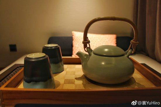 Anji County, Kina: 茶具们