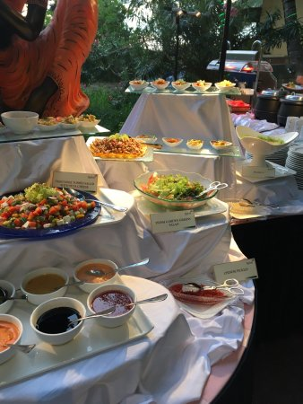 huluhlhe airport hotel: 位于机场,肯定就不能按度假酒店来要求了。酒店服务员热情好客,但硬件略显陈旧,酒店早餐不错,餐厅环境优美,每周四、六的自助餐很精致。