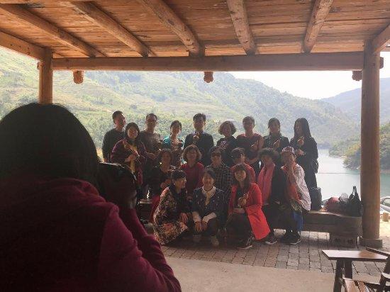 Hongjiang, Kina: 玉龙湖农庄合影
