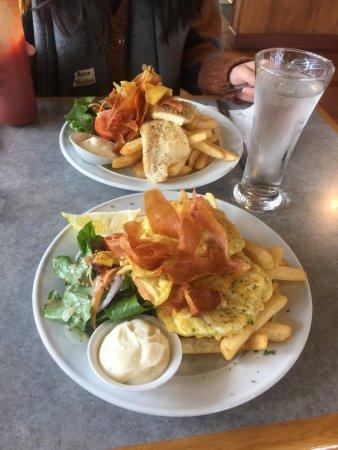 Westport, New Zealand: whitebail & fish