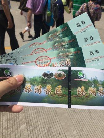 Jiangyan, China: 溱湖风景区
