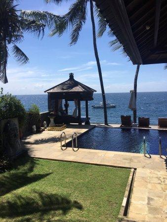Kubu, Indonesia: 很棒的酒店。潜水和风景都很棒。服务很热情周到。赞!下回还去。