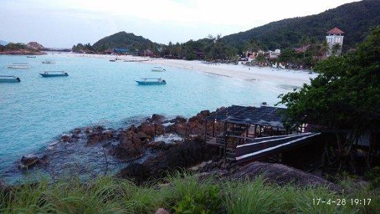 Redang Holiday Beach Villa : 海景
